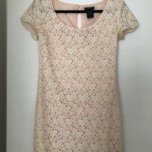 Aritzia Talula Lace Dress in creme